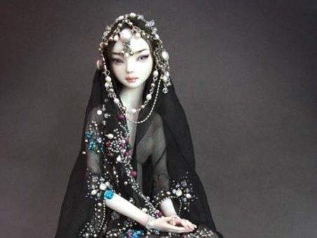 Одушевленные куклы: красота фарфоровых глаз - ФОТО.
