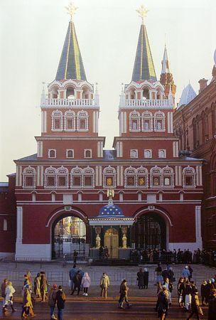 нулевой километр в москве: