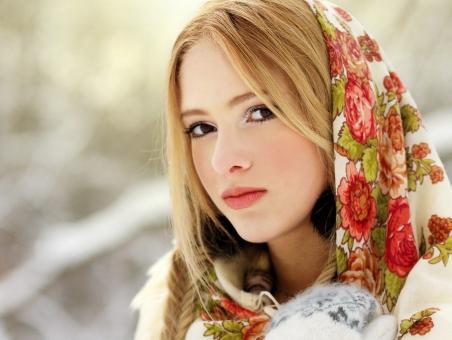 Фото славянских красавиц с зелеными глазами — photo 6