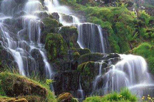 картинка на рабочий стол природа водопады № 501942 бесплатно