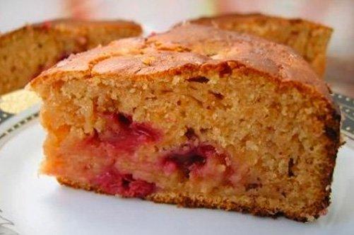 Пирог тертый с вареньем на скорую руку рецепт с пошагово